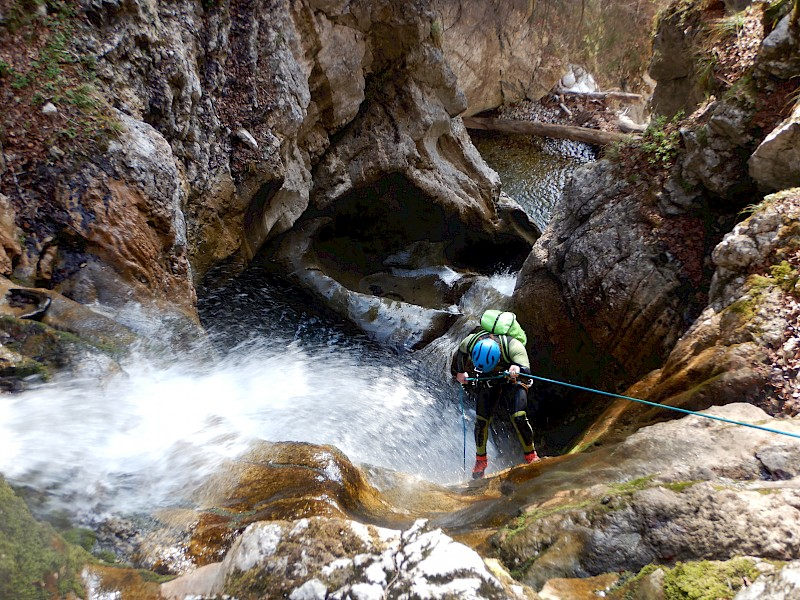 Canyoning Trip Tirol - Level 2