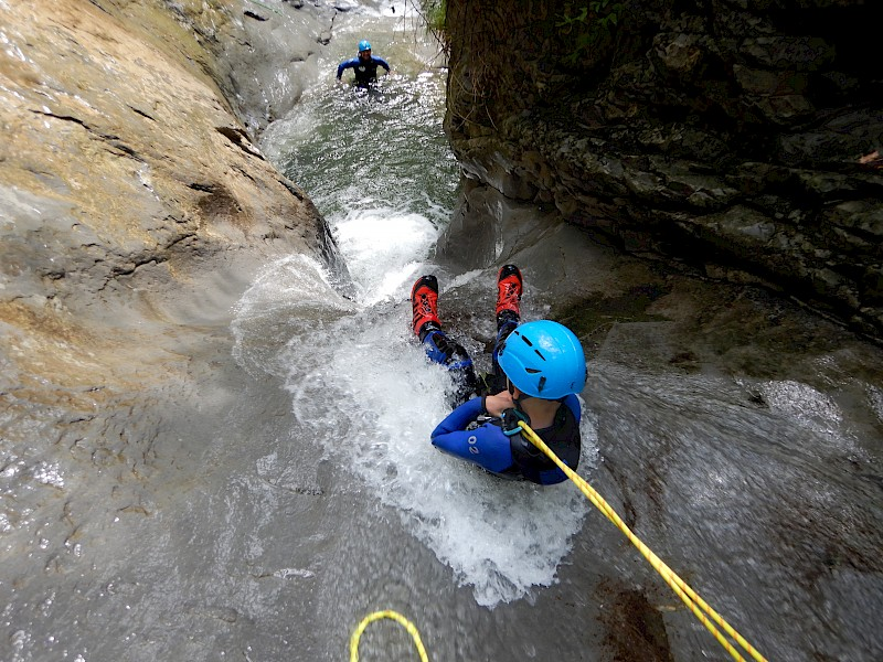 Canyoning Trip Tirol - Level 1